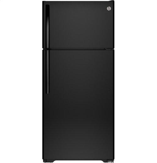 FACTORY BLEM UNIT- GE® ENERGY STAR® 15.5 Cu. Ft. Top-Freezer Refrigerator