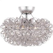 Pageant Semi-Flush Mount in null