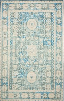 Madera Mad03 Teal Rectangle Rug 5' X 7'