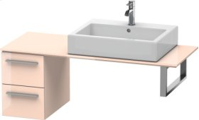 Low Cabinet For Console, Apricot Pearl High Gloss Lacquer