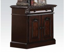 Nightstand Wood Top @n