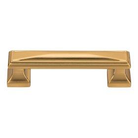 Wadsworth Pull 3 3/4 Inch - Warm Brass