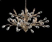 Budding Crystal Ten-Light Chandelier