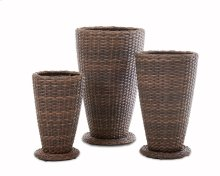 Mesa 3 pack Outdoor Planter Set
