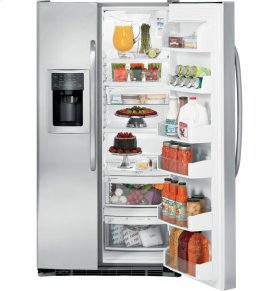 GE® ENERGY STAR® 23.1 Cu. Ft. Side-By-Side Refrigerator with Dispenser