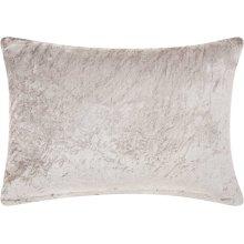 "Life Styles Cs018 Grey 14"" X 20"" Throw Pillows"