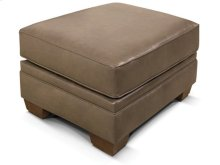 Milly Leather Ottoman