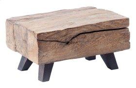 Wood Block Mini Pedestal