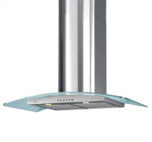 "600 CFM 36"" XOM Series Wall Mount Chimney"