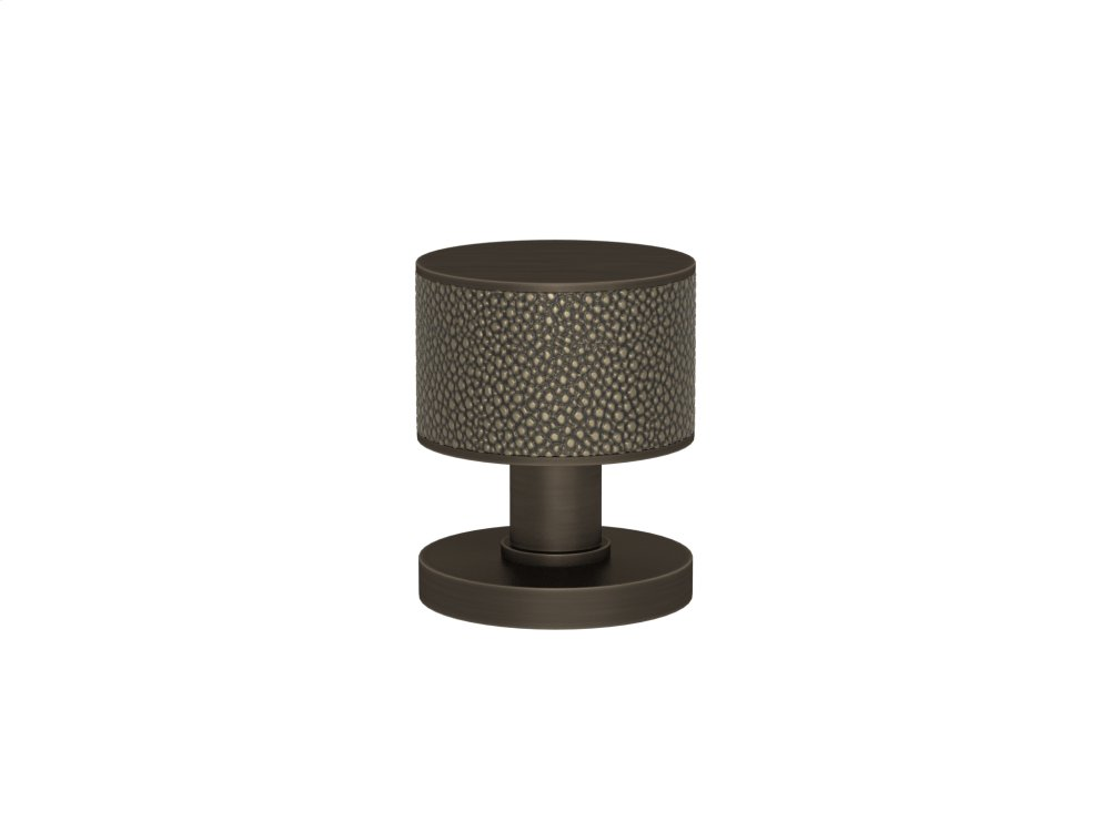 Stacked Shagreen Recess Amalfine In Silver Bronze And Vintage Patina