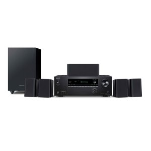 ONKYO5.1- Ch Home Theater Receiver & Speaker Package