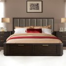 Precision - Queen/king Bed Rails - Umber Finish Product Image
