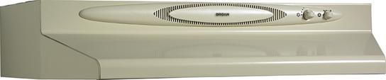 """Broan 200 CFM, 42"""" Undercabinet Range Hood in Almond Monochromatic"""