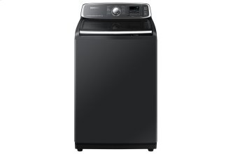 6.0 cu.ft. High Efficient Top Load Washer with Super Speed in Black Stainless Steel