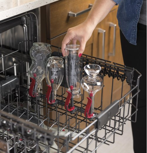 GE Profile™ Stainless Steel Interior Dishwasher with Hidden Controls - CLEARANCE ITEM
