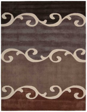 Contour Con17 Mocha Rectangle Rug 8' X 10'6''