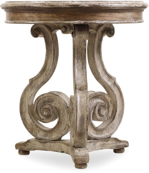 Chatelet Scroll Accent Table