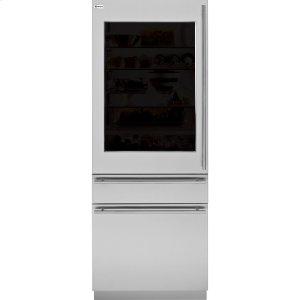 """GEMONOGRAM80"""" European glass-door panel kit (reversible door swing)"""