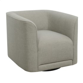 Swivel Accent Chair- Gray #dtt548-4