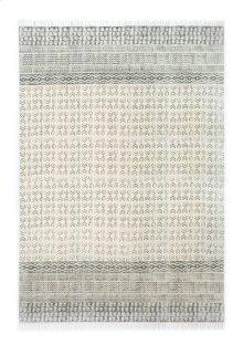 9'x12' Size Flatweave Faded Stripe Rug