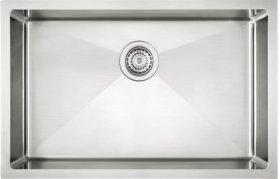 """Blanco Quatrus® R15 28"""" Single Bowl - Satin Finish"""