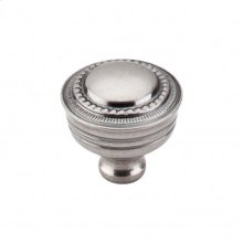 Contessa Knob 1 1/4 Inch - Pewter Antique
