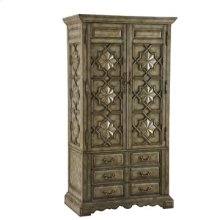 Medallion Tall Cabinet (Large) - Blue