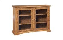 Den Bookcase (With Plain Glass Doors)