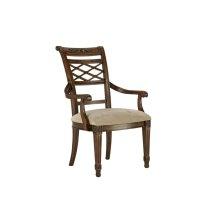Lattice Arm Dining Chair