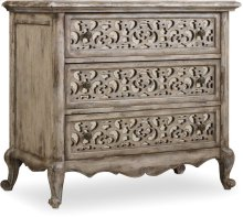 Chatelet Fretwork Nightstand