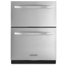 Double Drawer 27-Inch Width 5.3 Cu. Ft. Capacity Architect ® Series II(Stainless Steel)