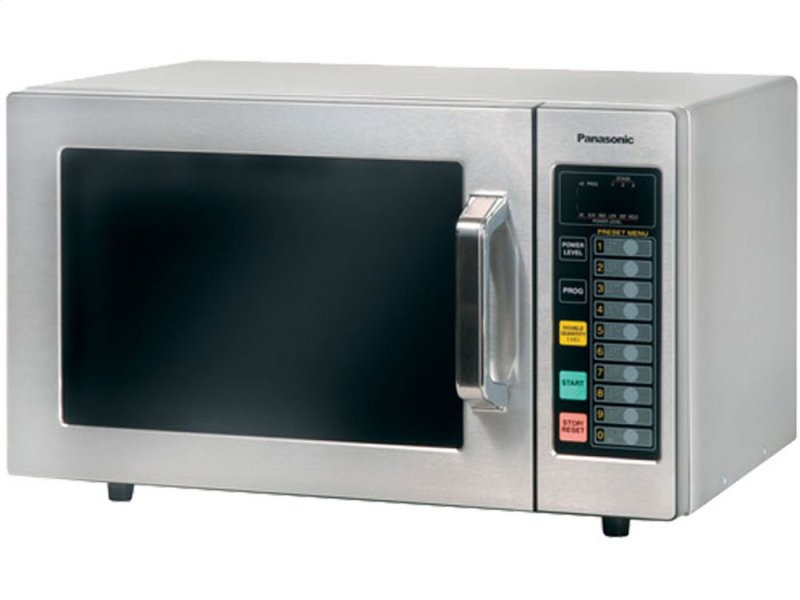 1000 Watt Commercial Microwave Oven With Stainless Cabinet And Cavity Ne 1064f Hidden