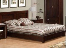 Contempo Queen Platform Bed (With Euro Slat System)