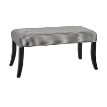 Carter Houndstooth Bench