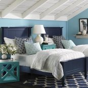 Wakefield Colors Twin Panel Bed