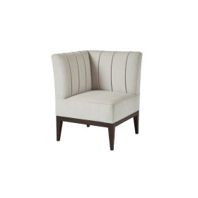 Frost (corner) Upholstered Chair - Chanelled Back