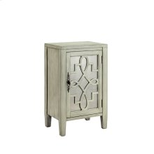 Leighton 1-door Cabinet In Soft Grey