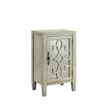 Leighton 1-door Cabinet In Soft Grey