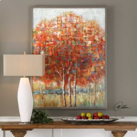 Autumn View Hand Painted Canvas