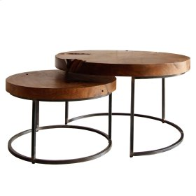 Otto Coffee Table Set of 2, Natural