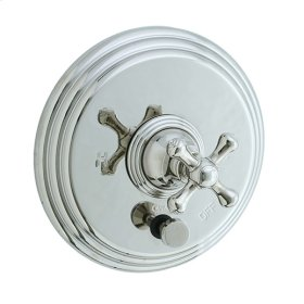 Asbury - Pressure Balance Mixing Valve Trim - Polished Chrome