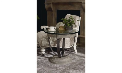 Arch Salvage Moss Lamp Table