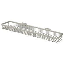 """Wire Basket 28-1/2"""", Rectangular - Brushed Nickel"""