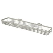 "Wire Basket 28-1/2"", Rectangular - Brushed Nickel"