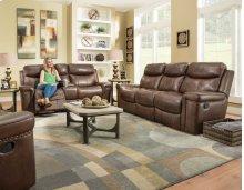 Rec Power Sofa w/Power Headrest
