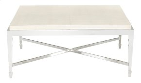 Criteria Square Cocktail Table in Criteria Pale Ivory (363)