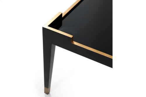 Mulholland Cocktail Table - Black Lacquer