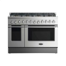 "48"" Dual Fuel Range: 8 Burners"
