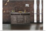 """60"""" TV Stand w/3 Drawer, 2 Door Product Image"""
