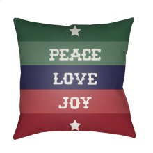"Peace Love Joy HDY-079 20"" x 20"""